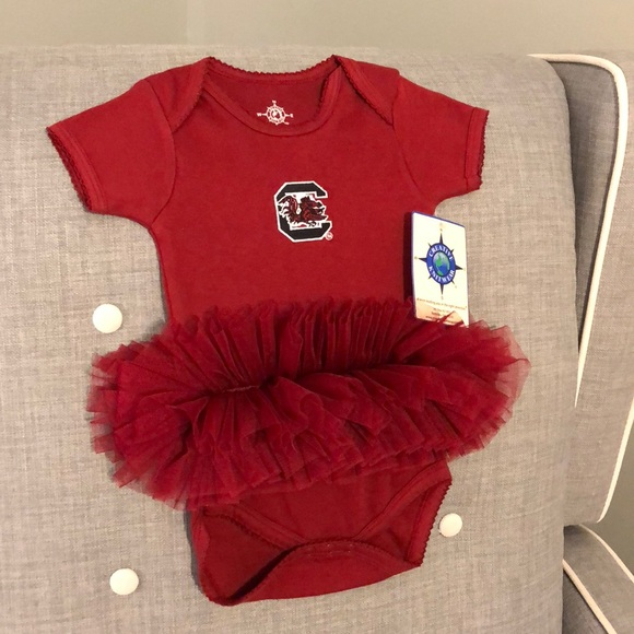 3fdaf6a99 creative knitwear One Pieces | Usc Gamecock Baby Girl Tutu Onesie ...
